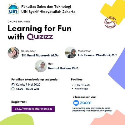 Workshop Aplikasi Media Pembelajaran Interaktiv Quizizz Teknik Informatika